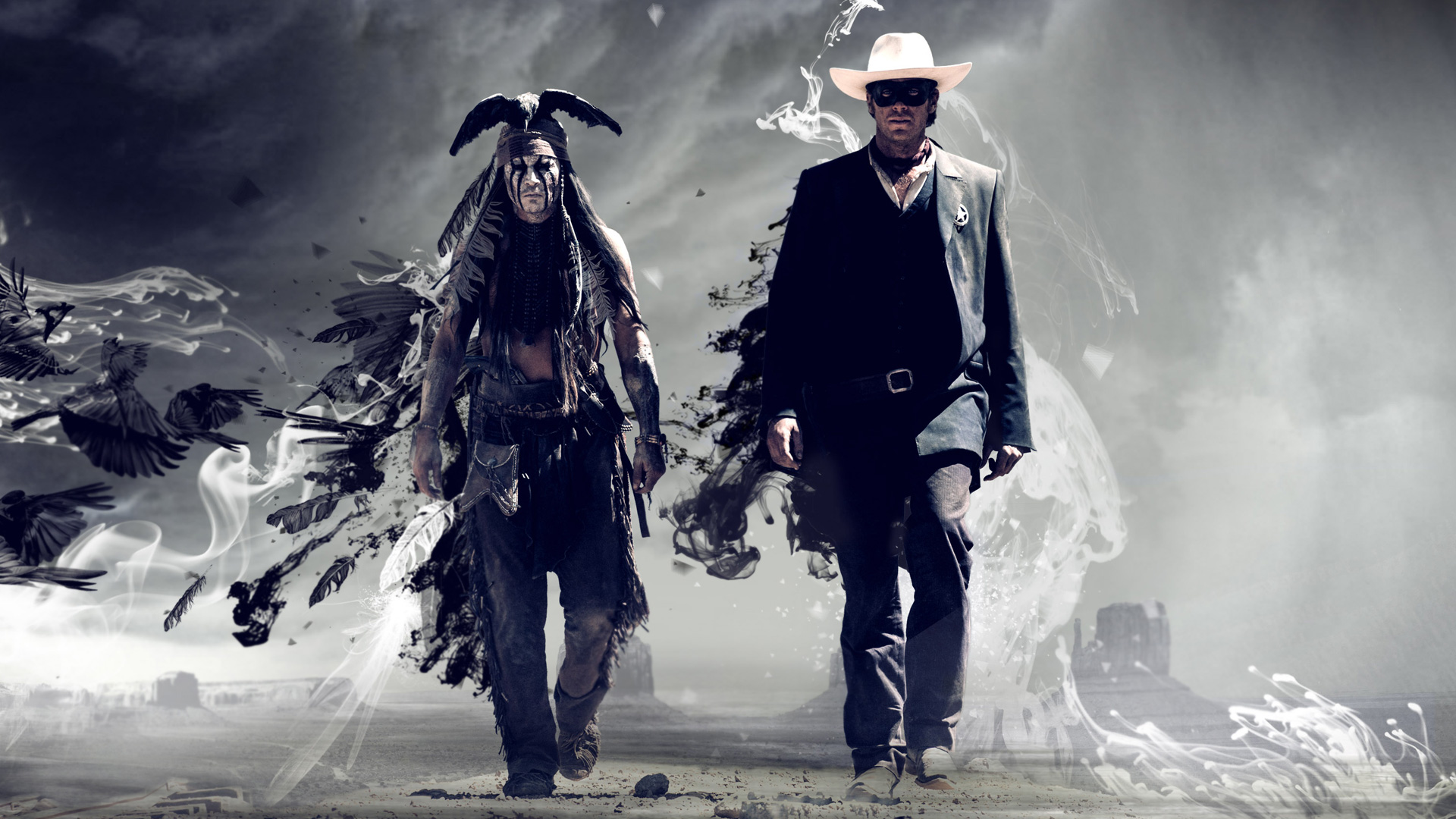 Lone Ranger UK trailer motion design