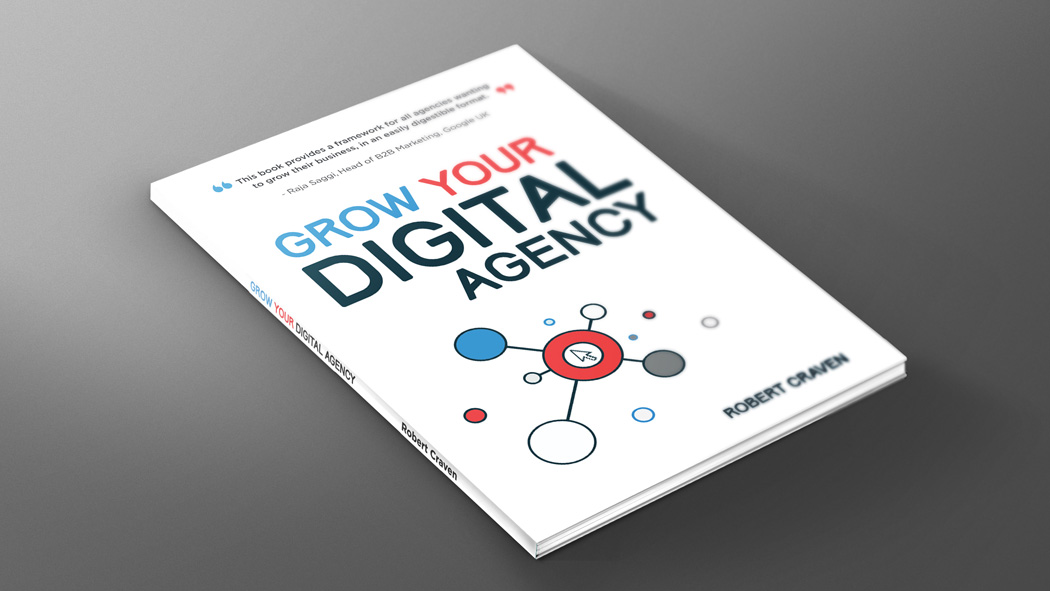 Grow Your Own Digital Agency | Book Jacket Design