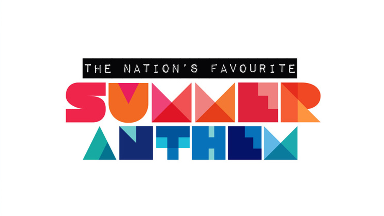 VH1 Nation's Favourite Summer Anthem Logo Design