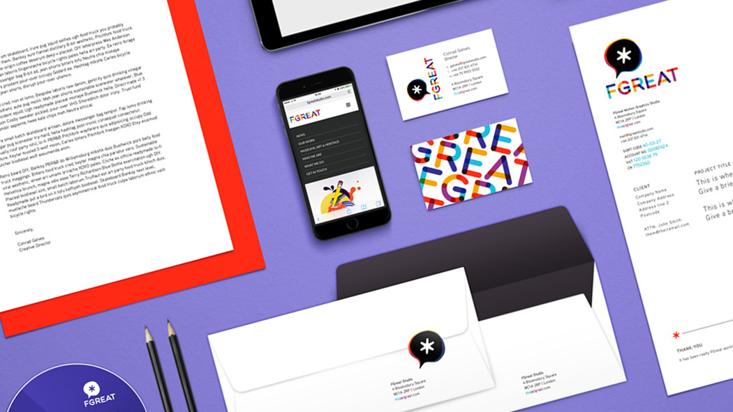 FGREAT Studio | Corporate iD