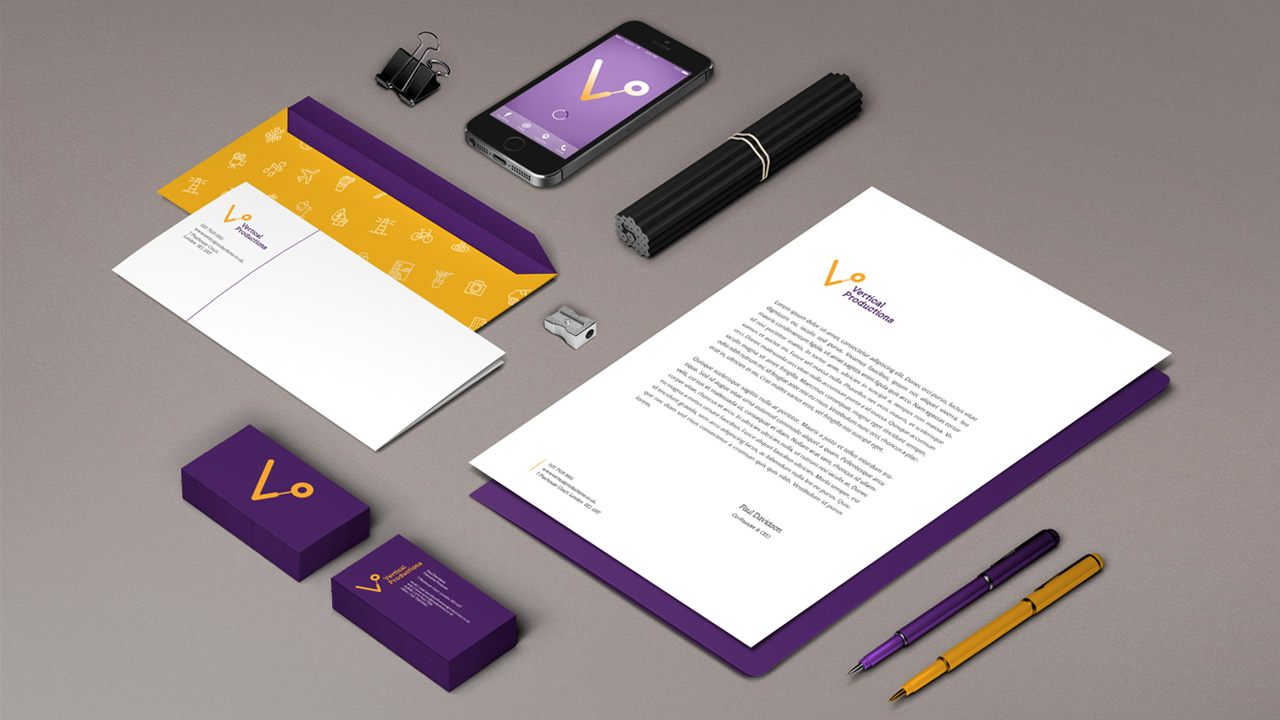 Vertical Productions | Corporate Identity