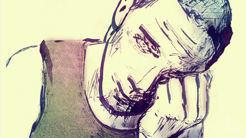 Hard Day's Night | Personal Illustration