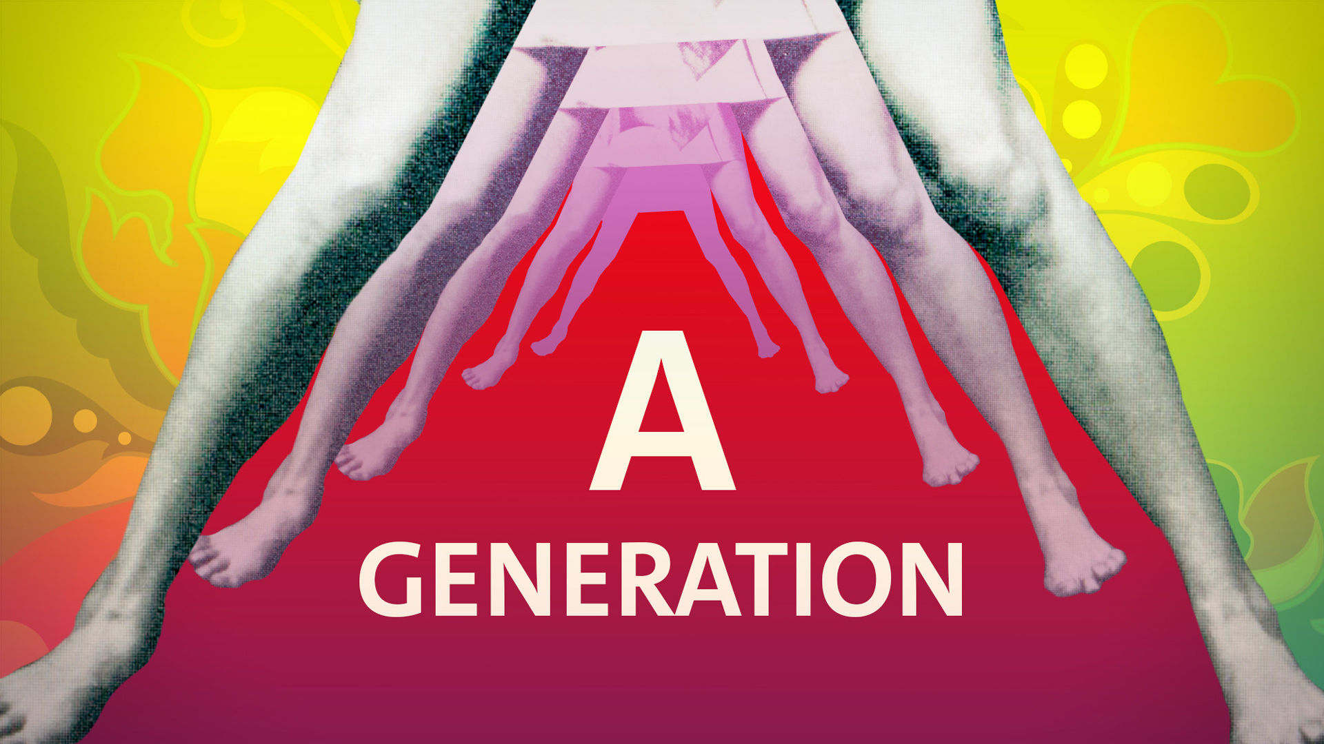 The V&A museum, Revolution exhibition, motion graphics design, london, 60's, sixties, records and rebels, roxanne silverwood